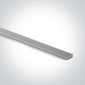 7900/AL Profil de aluminiu pentru disiparea caldurii,  Lungime 2000mm x 13mm latime x 3mm Inaltime
