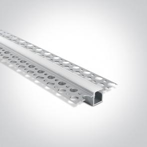 7901TR/AL Profil Trimless led 13mm, lungime 2m