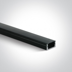 7902/B/B Profil led Aplicat, Lungime 2000mm x latime 17mm x 9mm Inaltime