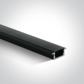 7902R/B/B Profil led Incastrat, Lungime 2000mm x latime 17mm x 9mm Inaltime