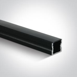 7904/B/B Profil led Aplicat, Lungime 2000mm x latime 17mm x 15mm Inaltime