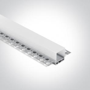7904ATR/Al Profil Trimless led 26mm, lungime 2m