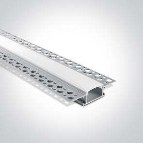 7904TR/AL Profil Trimless led  24mm, lungime 2m