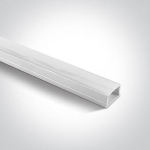 7905 Profil led, aplicat 23mm, lungime 2m