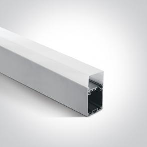 7906C/AL Profil led montaj aplicat sau suspendat,  36mm, lungime 2m
