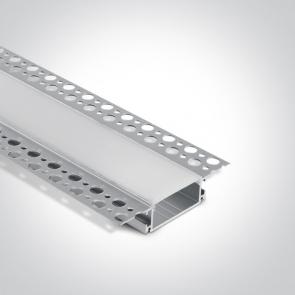 7906TR/AL Profil Trimless led  40mm, lungime 2m