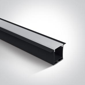 7912R/AL Profil incastrat 24mm, lungime 2m