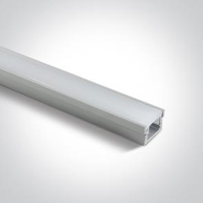 7915R Profil led IP67, montaj pardoseala 22mm, lungime 2m