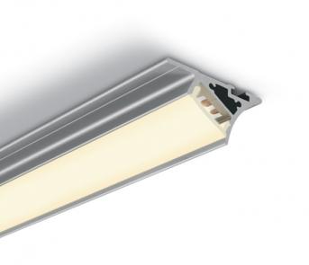 7937T/AL Profil aluminiu benzi led  pentru iluminat polite, 2ml