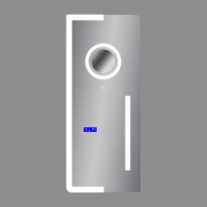 A964801B Oglinda Iluminata Multi Option, Touch, 2 x Led, 40.5W + 9W, IP 44, Lungime 1200mm x Latime 500mm