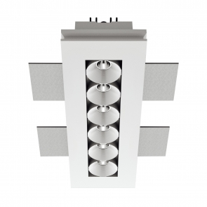 Gypsum_Cell 6 x Spot Led Incastrat , 12W, 630mA