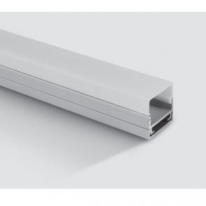 7906/AL Profil aplicat 20mm, lungime 2m