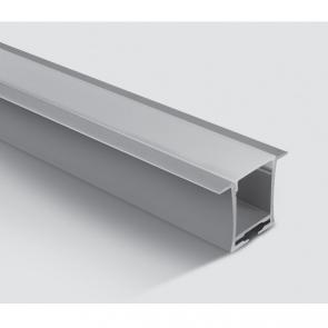 7912R/AL Profil incastrat 36mm, lungime 2m